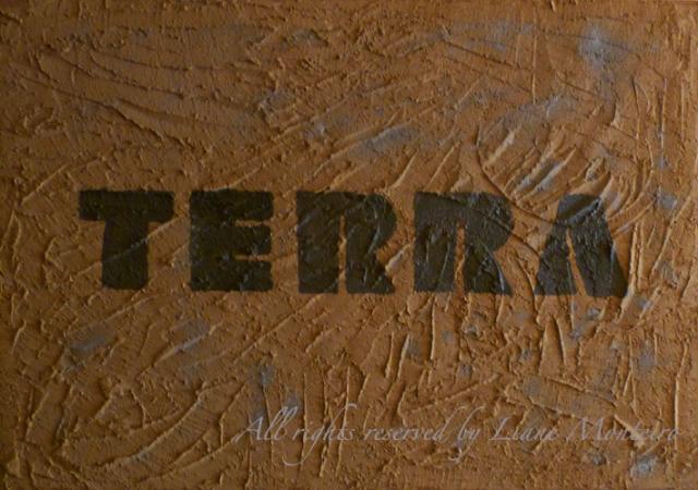 TERRA. acrílico . pigmentos. Liane Monteiro