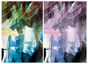 Fragmentos de um Cenário . ©LiMonteiro . díptico
